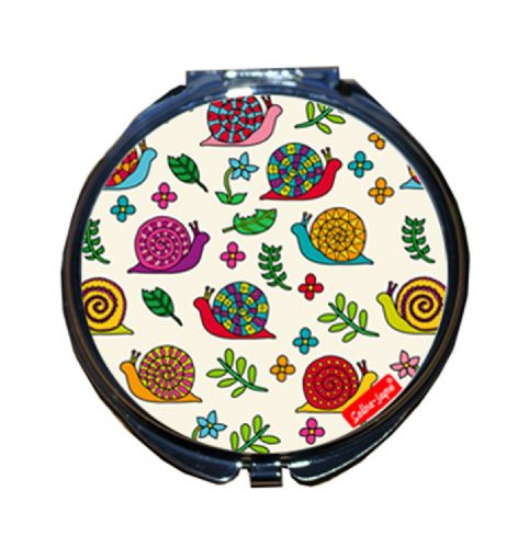 Selina-Jayne Snails Limited Edition Designer Compact Mirror